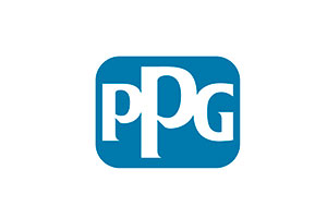 Logotipo del proveedor de pintura PPG
