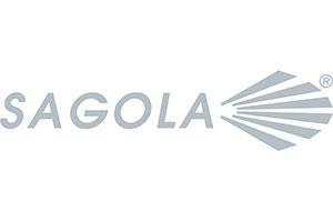 Logotipo del proveedor de herramientas de pintura Sagola