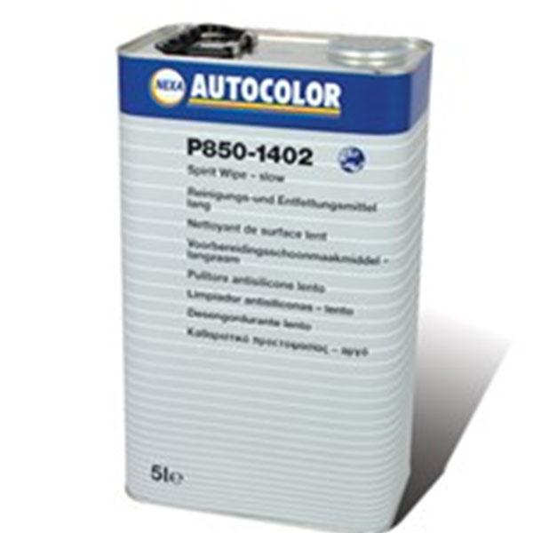 limpiador de adhesivos anti siliconas lento P850-1402 nexa autocolor para el desengrasado de la carrocería del coche