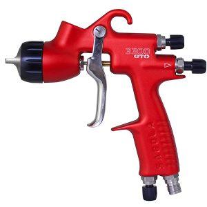 una pistola sagola 3300 gto epa roja con boquilla 1.8 para aparejos HS de alto rendimiento