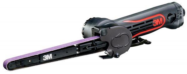 lijadora 3m de bandas de 457mm y mini lijadora de banda de 330mm para reparaciones de carrocería y uso con abrasivos cubitron II 3m