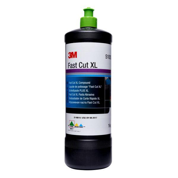 un bote de pulimento 3M perfect-it de corte rápido que elimina el óxido y los arañazos del lavado o la rectificación de la pintura