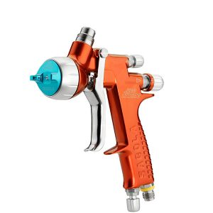 la pistola sagola 4600 xtreme aqua 1.20xl para pinturas base agua en el pintado de vehículos