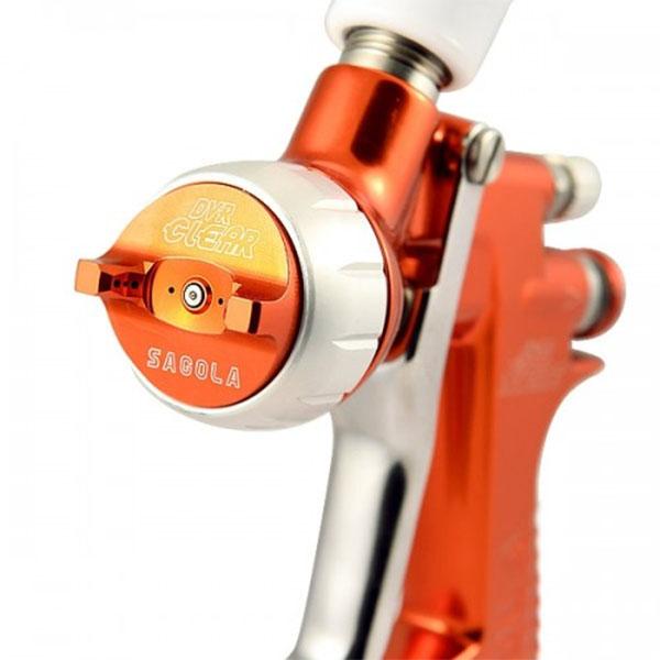 la pistola aerográfica sagola 4600 xtreme clear para acabados perfectos en la pintura de coches