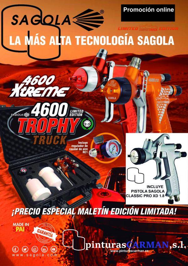 maletín edición especial para comprar pistola sagola 4600 y manómetro RC1