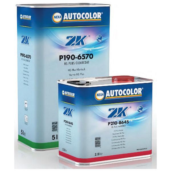 kit barniz de 2 componentes marca nexa autocolor. pack barniz y catalizador para reparaciones de pintura en vehículos
